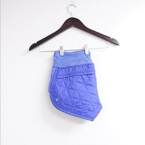 LULULEMON HOT CHEEKS QUILTED DOWN SHORTS 💜